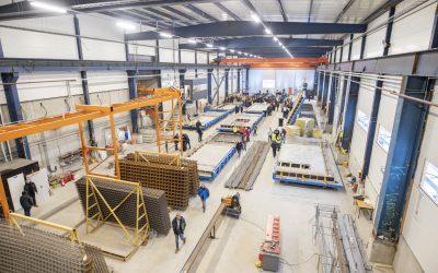 Vanha Hernesaaren telakkahalli löysi uuden elämän betonitehtaan laajennuksesta. Katso kuvakooste avajaisista