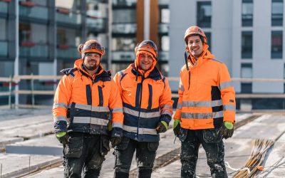 Potius uudistaa betonirakentamista